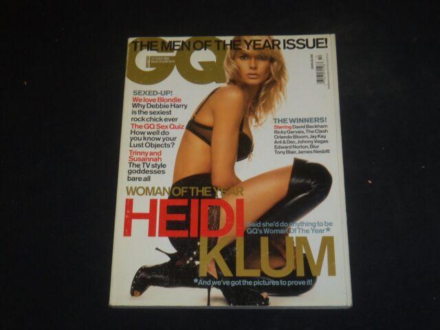 2003 OCTOBER GQ MAGAZINE