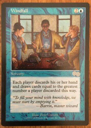 Windfall Unplayed Magic the Gathering MTG Urza/'s Saga NM//MT