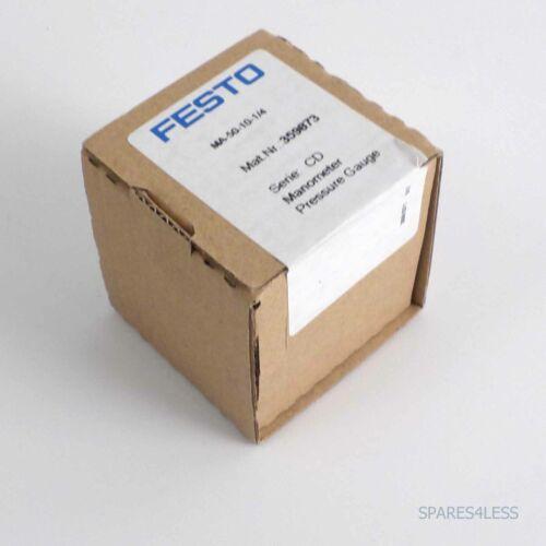 Festo manómetro ma-50-10-1//4 359873 OVP