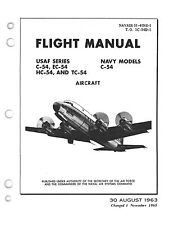 """PDF 30 C-54 """"SKYMASTER"""" MANUALS BERLIN AIRLIFT DC-4 R-2000 AIRCRAFT - DVD-ROM"""
