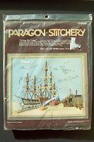 Paragon Stitchery Crewel Kit taking On Cargo Tall Ships 16 X 20