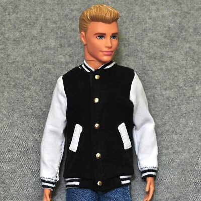 "Handmade doll clothes brown sport jacket for 12/"" ken dolls"