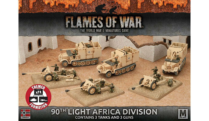 Flames of War - 90Th Light Africa Division Division Division - German - Afrika Korps - GBX104 d89fb1