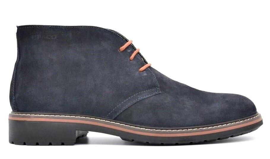 IGI & CO 8682 BLU ANTRACITE scarpe pelle uomo sneakers polacchine pelle scarpe camoscio 9b708d