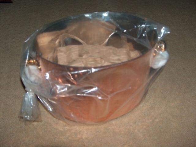 Hammered Copper Wine Bucket