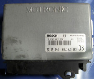 94 95 saab 900 2.3 engine computer 0261203460 /& 4239646 ecm ecu