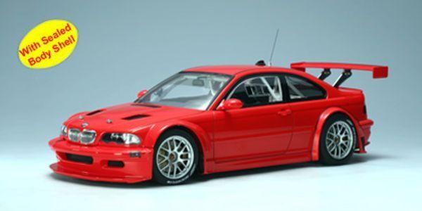 1:18 Autoart 80530 BMW 3 Series M3 E46 GTR Nürburgring Rojo Cuerpo Liso 2005