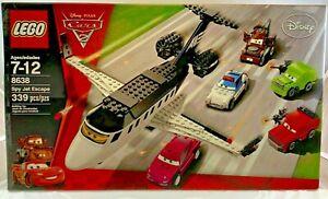 Sealed 8638 Lego Cars 2 Spy Jet Escape Disney Movie Pixar Mater Acer 339 Pc Set Ebay