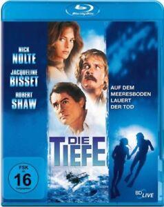 La profondità [Blu-Ray/Nuovo/Scatola Originale] Nick Nolte, Jacqueline Bisset e Robert Shaw dopo G