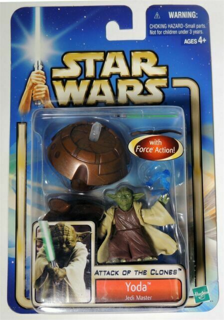 Yoda Jedi Master 2002 STAR WARS The Saga Collection MOC #23