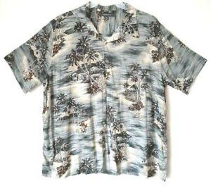 Men-039-s-Croft-amp-Barrow-Hawaiian-Style-Shirt-w-Pocket-Button-Front-XXL-NWOT