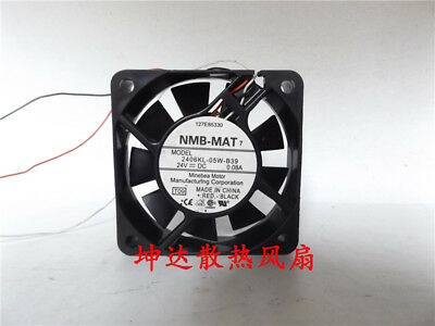 Original NMB 1606KL-05W-B39 fan 40*40*15mm 3pin 24V 0.06A #M2692 QL