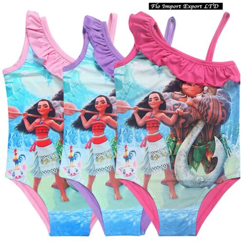 Vaiana Swimwear Oceania Entire Girl 310 Ages Moana Girl Swimsuit SWIVA01