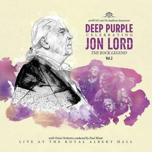 DEEP-PURPLE-amp-FRIENDS-CELEBRATING-JON-LORD-THE-ROCK-LEGEND-vol-2-2-VINYL-LP-NEUF