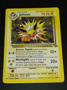 JOLTEON – HOLO – 4/64 – JUNGLE – ITA – POKEMON