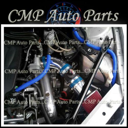 BLUE RED AIR INTAKE KIT FIT 2006-2008 PONTIAC GRAND PRIX GXP 5.3 5.3L V8