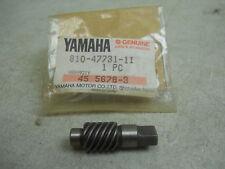 NEW OEM 1970-1980 Yamaha SNOWMOBILE Speedometer Drive Gear 810-47731-11 NOS