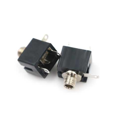 20pcs 2.5mm Female Connector 3 Pin Headphone Jack Socket Mono Channel PJ-201M B$
