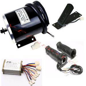 MY1020 800W 36V electric motor Speed Controller Throttle Grip F Gokart ATV Buggy