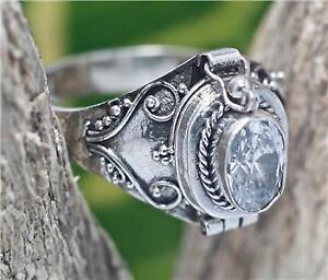 Artisan Bali Style Art Deco Silver Ring  925 Sterling Silver  Size 7 Ring  Handmade Ring Jewelry