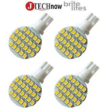 Jtech 4x T10 921 194 24 SMD LED Bulb Super Bright Warm White