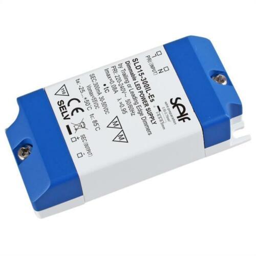 TRIAC dimmbares LED Netzteil 15W 17-30V 500mA ; SLD-15-500IL-ES ; Konstantstrom