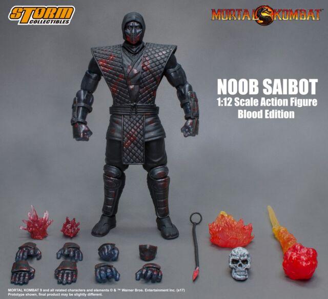 Mortal Kombat Storm Collectibles NOOB Saibot Bloody Variant 112 Action  Figure