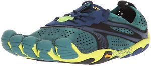 à Condition De Vibram Fivefingers V-run Homme Chaussures De Course-vert-afficher Le Titre D'origine Des Biens De Chaque Description Sont Disponibles