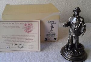 Firefighter-Red-Hats-Gallantry-Pewter-Sculpture-Limited-Edition-2500-Made