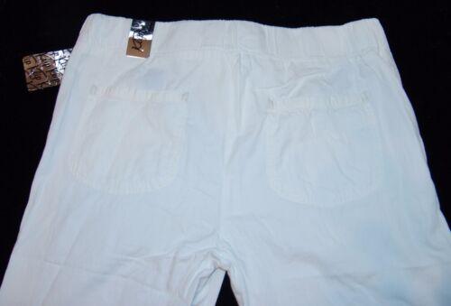 Pantaloni 2x Joggers Nwt Donna Plus Jeep Bianco Jogger Nuovi Jeans rfqprO