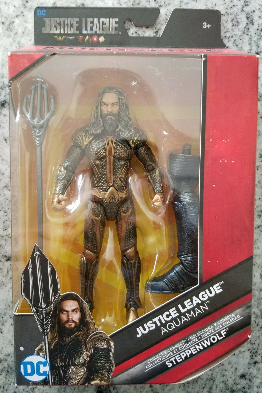 Aquaman Multiverse 6  ACTION FIGURE Justice League Movie DC Steppenwolf c&c
