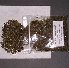 PYRITE SAND 0-10mm  Natural Ore 1/2 lb pkg xxmini-xmini gold rough