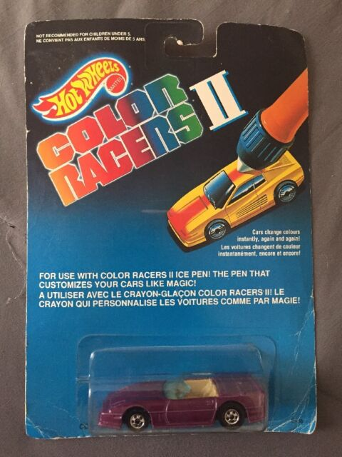 1989 Mattel Hot Wheels Automagic II /'83 CUSTOM CORVETTE CONVERTIBLE MOC