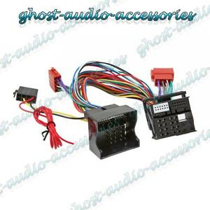 Ford Focus 2005 On Car Bluetooth Parrot SOT Lead T-Harness ISO Lead CT10FD03