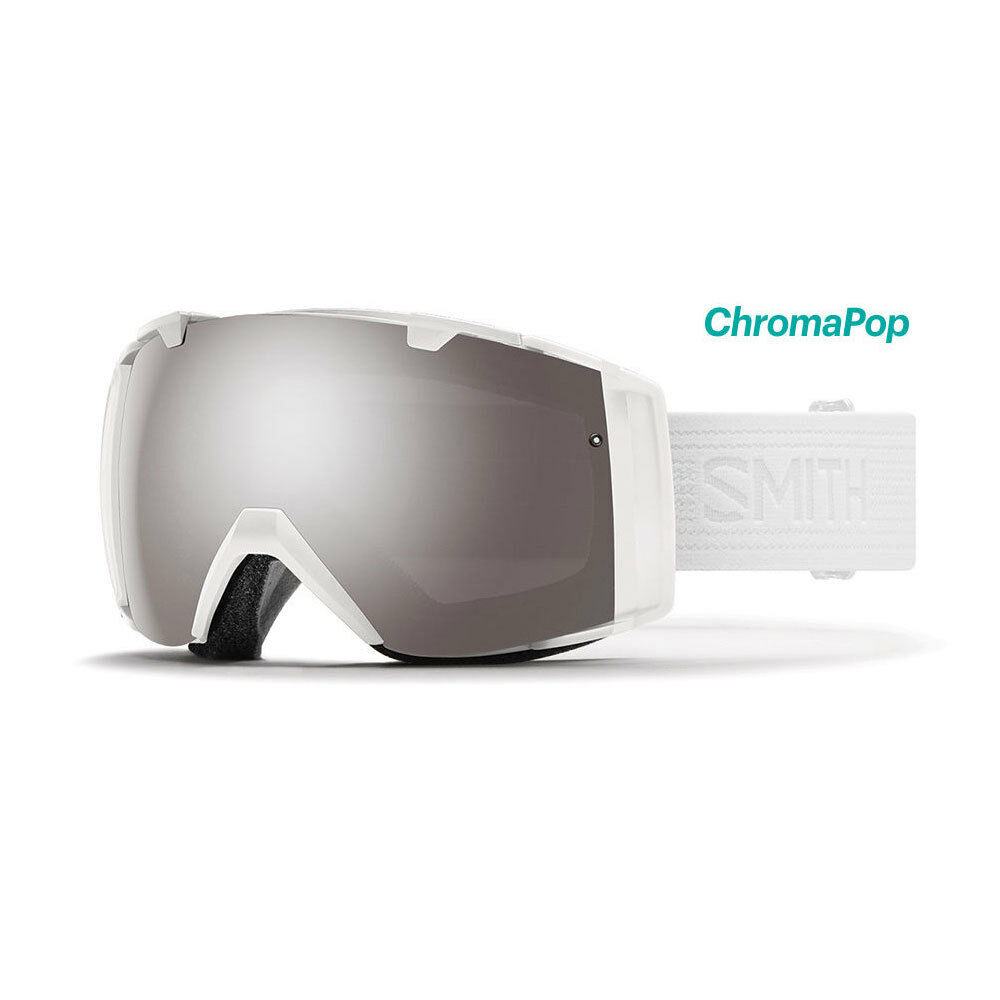 2018 SMITH I O GOGGLES WHITEOUT WITH INTERCHANGEABLE LENS  II7CPPWTO18