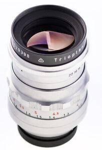 Meyer-Gorlitz-trioplan-100-mm-F-2-8-q1-15-lames-DUGROUPE-sn2529398-teste-Top