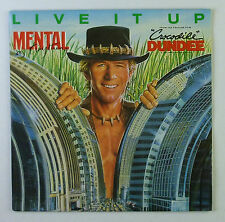 """7"""" Single - Mental As Anything - Live It Up - s844 - Soundtrack"""