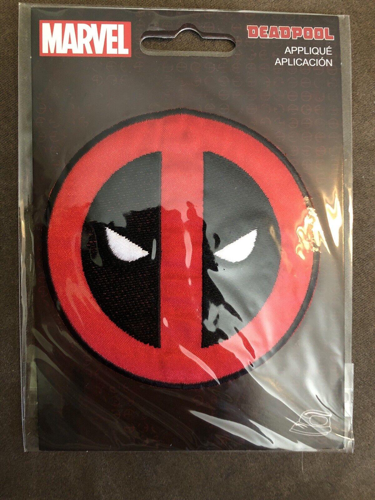 DEADPOOL MARVEL SUPERHERO COMICS MOVIE Embroidered Iron Sew On Patch Logo