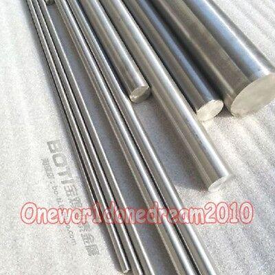 1x Titanium Ti Titan Metal Rod Gr.2 GR2 Diameter 5mm 20 inches Length 50cm