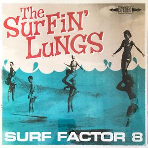 SURFIN-LUNGS-SURF-FACTOR-8-PREMIUM-OTIS-RECORDS-LP-VINYLE-NEUF-NEW-VINYL