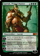Garruk, Primal Hunter x4 PL Magic the Gathering 4x Magic 2013 mtg card lot