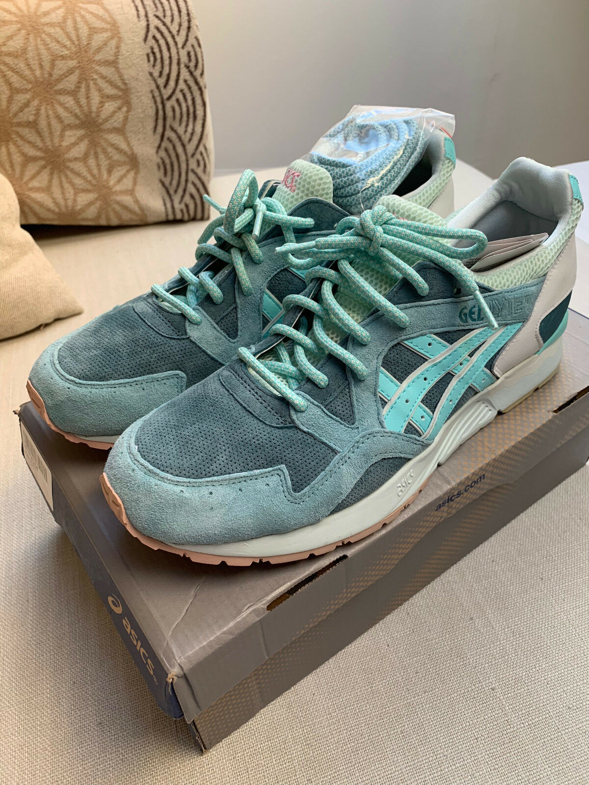Neu  Asics x Ronnie Fieg Gel Lyte V Sage (Dark Grün   Mint) EU 45,5 US 12 UK 11