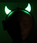 LED-Green-RED-Blue-LIGHT-UP-Devil-HORNS-Head-Band-Costume-Accessory-Non-Flashing thumbnail 4