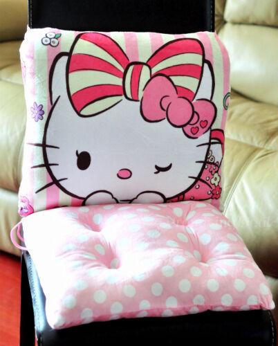 Office Home Seat Cushion Super Cute Soft Hello Kitty Waist Cushion Pillow