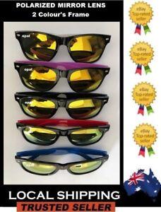 cb7c553611 Vintage Adults Sunglasses Unisex Men Women UV400 2 colors Polarized ...