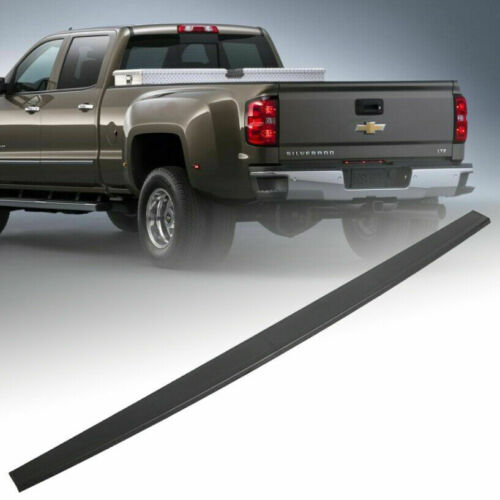 Tailgate Molding Cap Top Protector Molding Trim For 2014-2019 Silverado Sierra