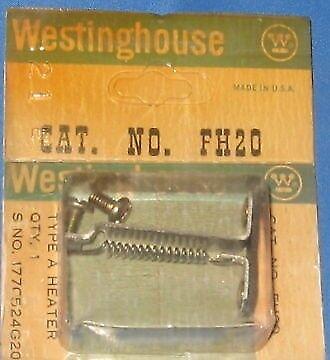 WESTINGHOUSE FH20 TYPE A HEATER ELEMENT 177G524G20 NIB