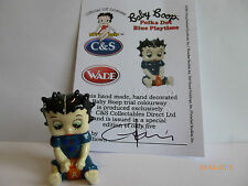 Wade Whimsie BABY BETTY BOOP A POIS BLU GIOCO le 5