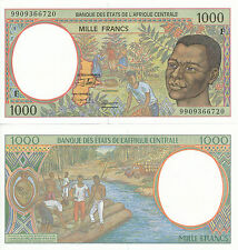 Central African St. / Central African Rep. - 1000 Francs 1999 UNC - Pick 302Ff