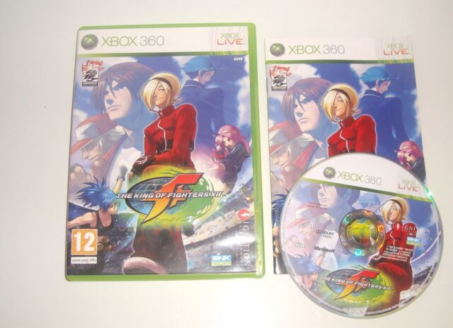 JEU X BOX 360 THE KING OF FIGHTERS XII COMPLET